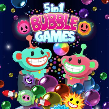 5 in 1 Bubble Games