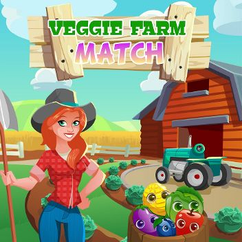 Veggie Farm Match